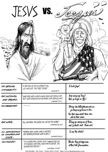 Иисус vs. JEEZUS!