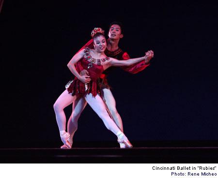 Ballet wallpaper called Jewels - Cincinnati Ballet