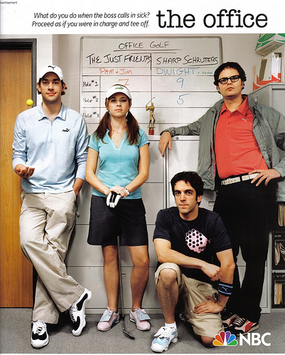 Jim, Pam, Ryan & Dwight