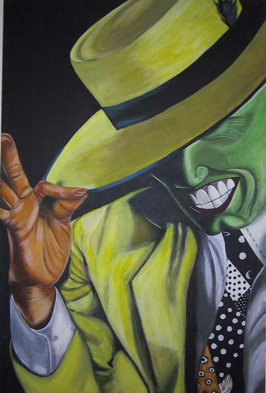 Cane di the mask