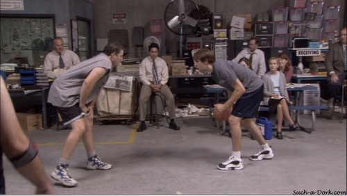 Jim/Pam/Roy in Basketball