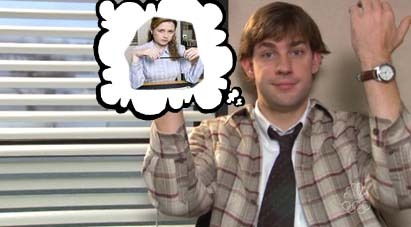 Jim Thinking of Pam