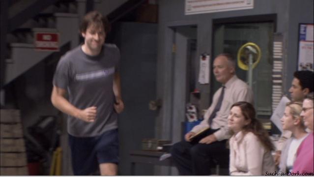 Jim and Pam Basketball