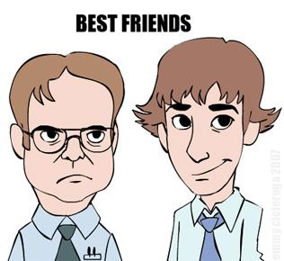 Jim & Dwight