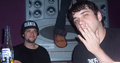 Jimmy Pop & Bam Margera - bloodhound-gang photo