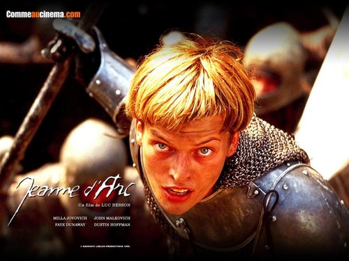 Film wallpaper entitled Joan of Arc