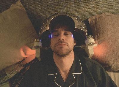 Joel during the procedure