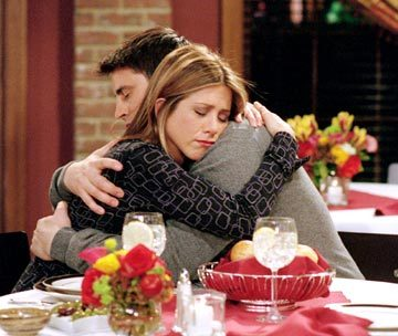 Jennifer Aniston wallpaper called Joey Hug