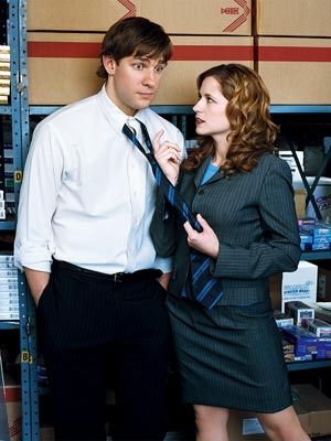 John & Jenna - the-office Photo