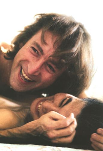 John Lennon 바탕화면 called John & Yoko