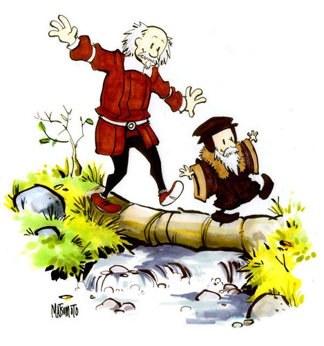 John Calvin and Thomas Hobbes