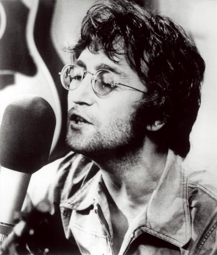 John Lennon 바탕화면 titled John