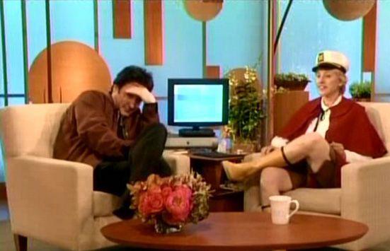 John on Ellen