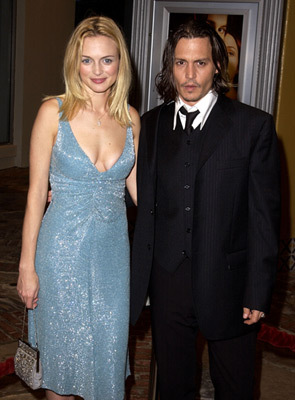 Johnny & Heather Graham - johnny-depp Photo