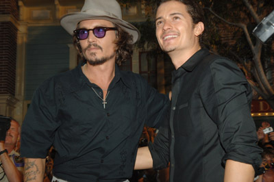 Johnny & Orlando Bloom