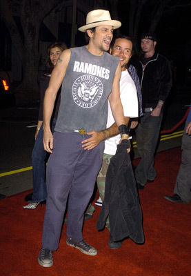 Johnny Knoxville with...