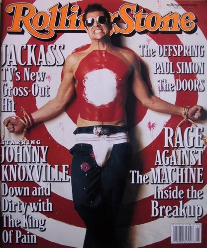 Johnny Knoxville on the...