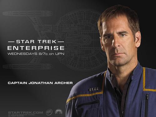 étoile, étoile, star Trek - Enterprise fond d'écran called Jonathan Archer