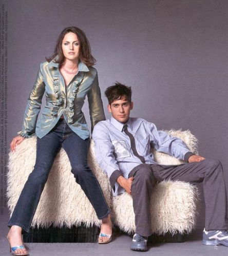 Jorja fox and Eric Szmanda