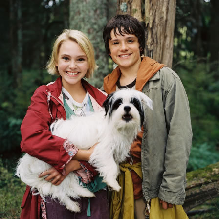 Josh, and AnnaSophia