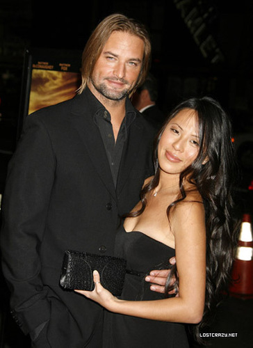 Josh and wife Yessica - josh-holloway Photo