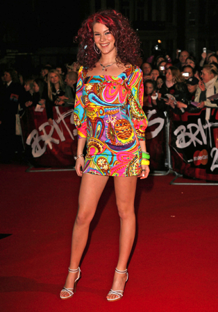 Joss At The Brit Awards 07