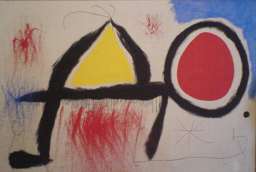 Modern Art wallpaper titled Juan Miro