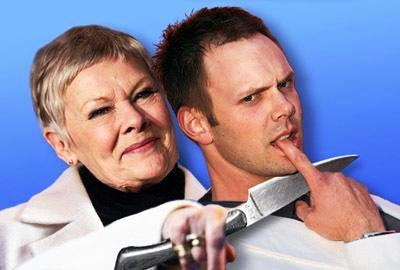 Judy Dench and Joel McHale