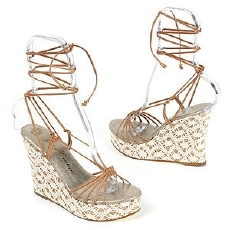 Juicy kant, lace Wedges