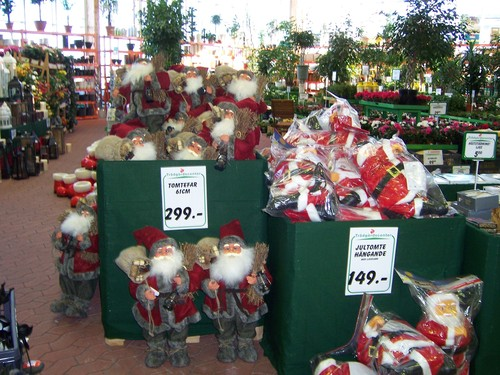 Jul Display in Sweden