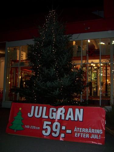 Jul displays in Sweden