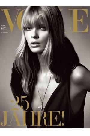 Vogue wallpaper titled Julia Stegner Vogue Covers
