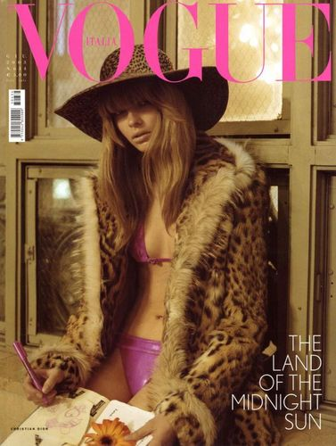 Julia Stegner Vogue Covers