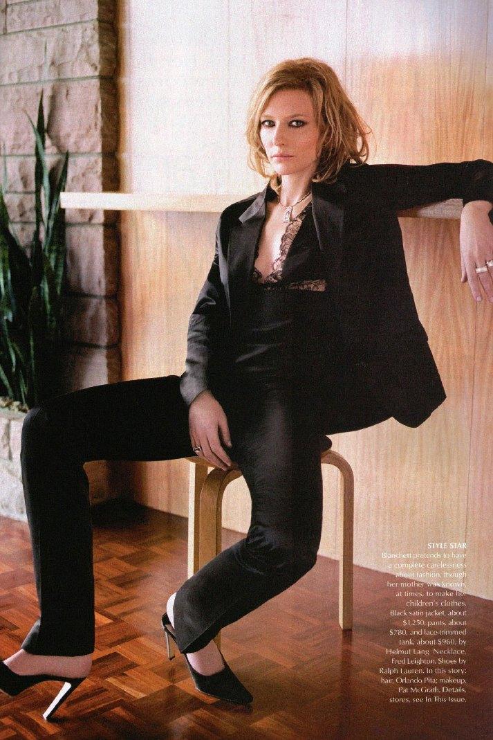 July 2001: Cate Blanchett - Vogue Photo (81570) - Fanpop