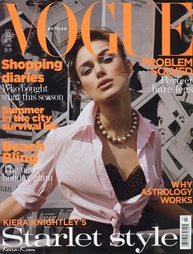 July 04 - Keira Knightley (UK)
