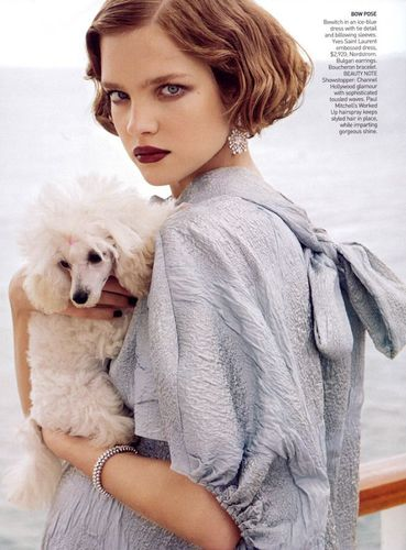 Vogue wallpaper called July 2007: Natalia Vodianova