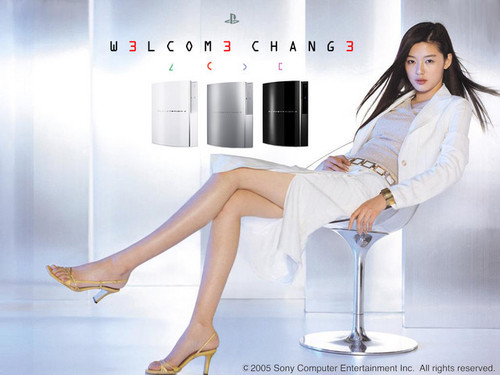 Playstation 3 wallpaper titled Jun Ji Hyun PS3 Korean Model