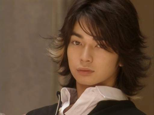 Matsumoto Jun hairstyle