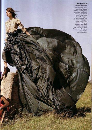 Vogue wallpaper called June 2007 - Keira Knightley