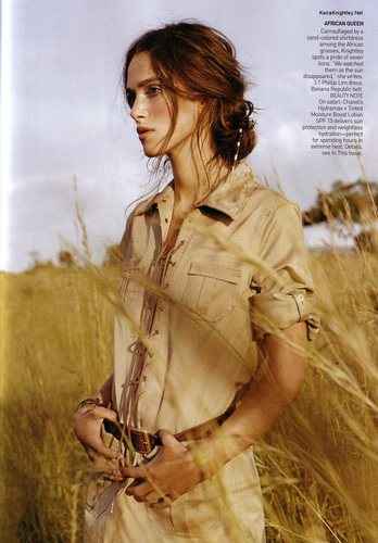 Vogue wallpaper titled June 2007 - Keira Knightley