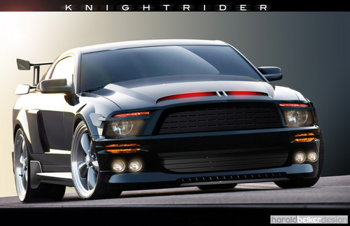 Knight Rider wallpaper entitled K.I.T.T. 3000 Wallpaper