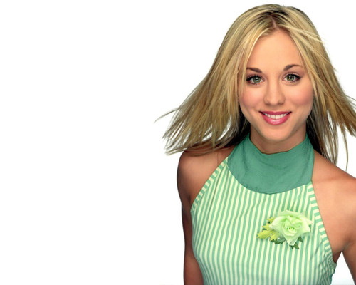 Charmed wallpaper titled Kaley Cuoco