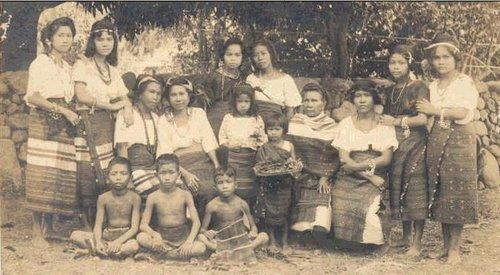 Kankanai in colonial dress