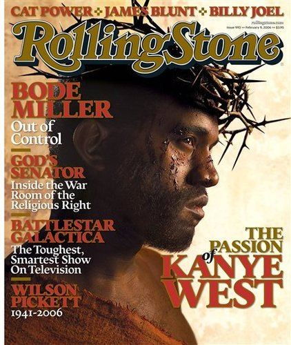 Kanye West wallpaper titled Rolling Stone Cover (Feb 2006)