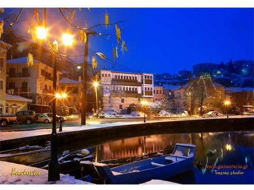 Greece 壁紙 entitled Kastoria