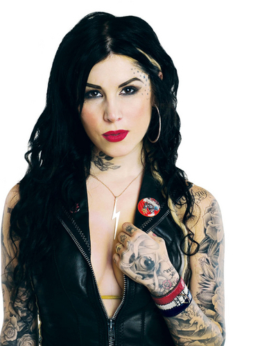 LA Ink wallpaper entitled Kat Von D