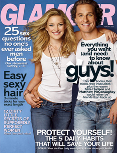 Kate & Matthew on Glamour