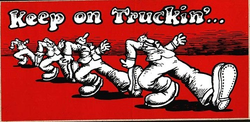 Keep On Truckin' - the-70s Photo