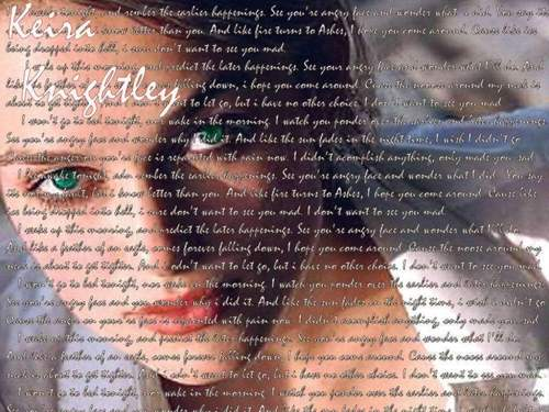 Keira Knightley پیپر وال entitled Keira