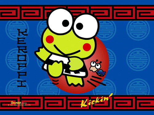 Sanrio wallpaper titled Keroppi